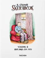 Robert Crumb sketchbook t.2 ; septembre 1968-janvier 1975