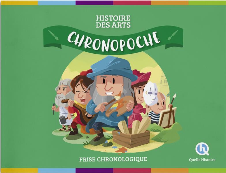 CHRONO POCHE  -  HISTOIRE DES ARTS  -  FRISE CHRONOLOGIQUE XXX