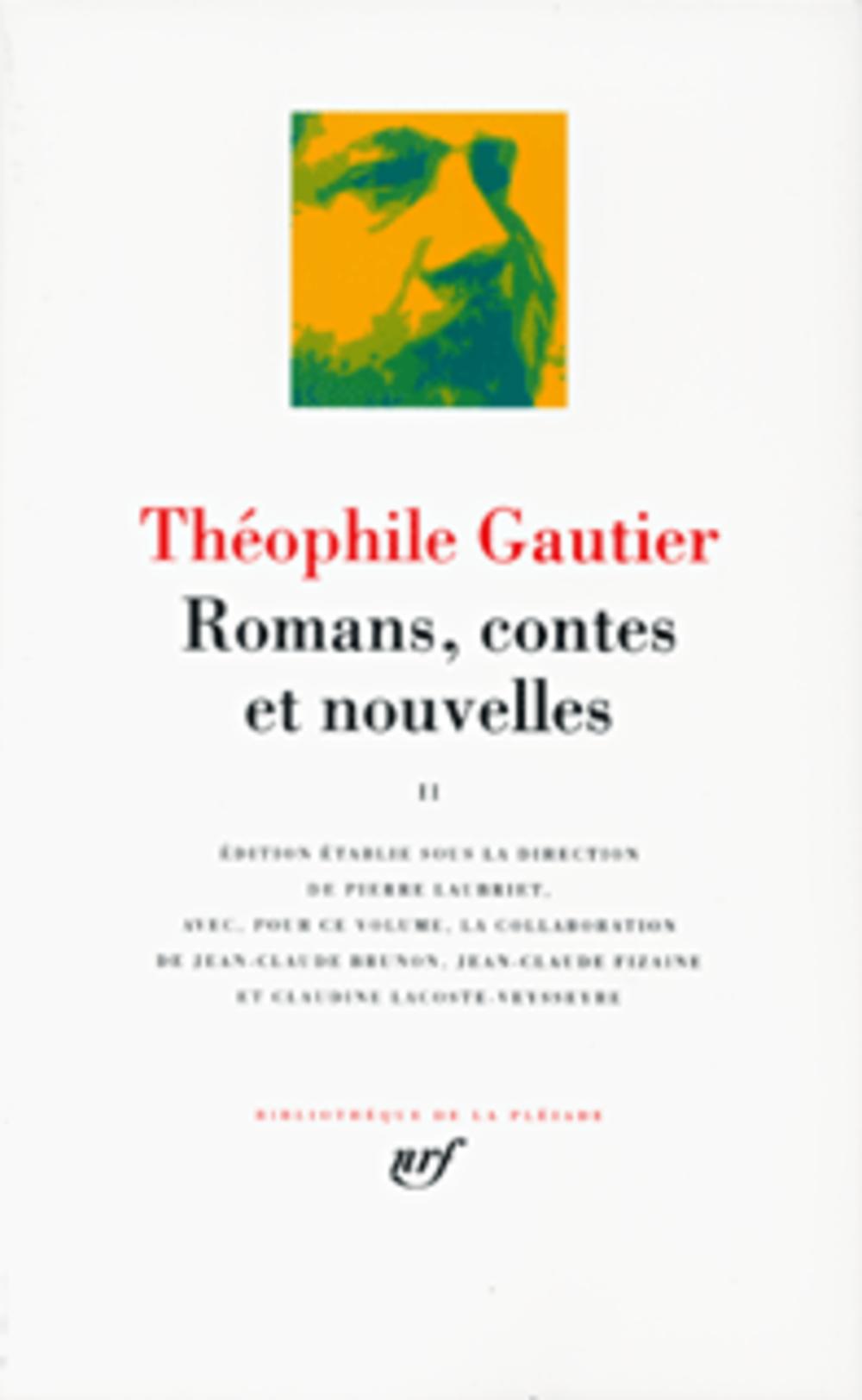GAUTIER, THEOPHILE  - ROMANS, CONTES ET NOUVELLES T.1