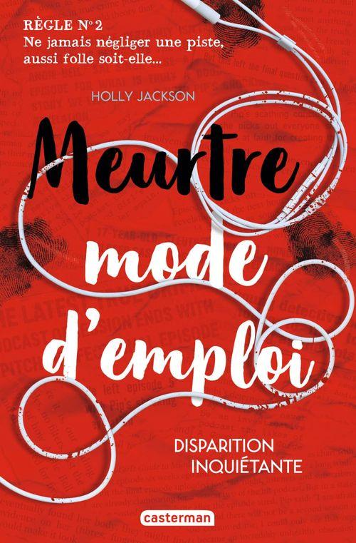 Vente EBooks : Meurtre mode d'emploi - t02 - disparition inquietante  - Holly Jackson