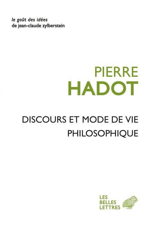 Discours et mode de vie philosophique