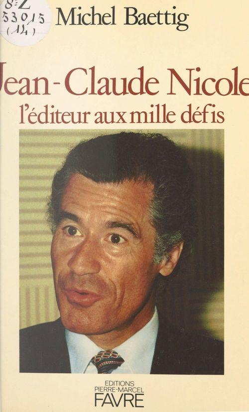 Jean-Claude Nicole