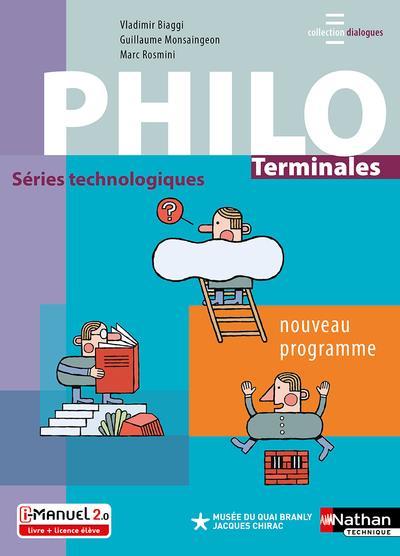 philosophie ; terminale ; manuel de l'élève (édition 2020)