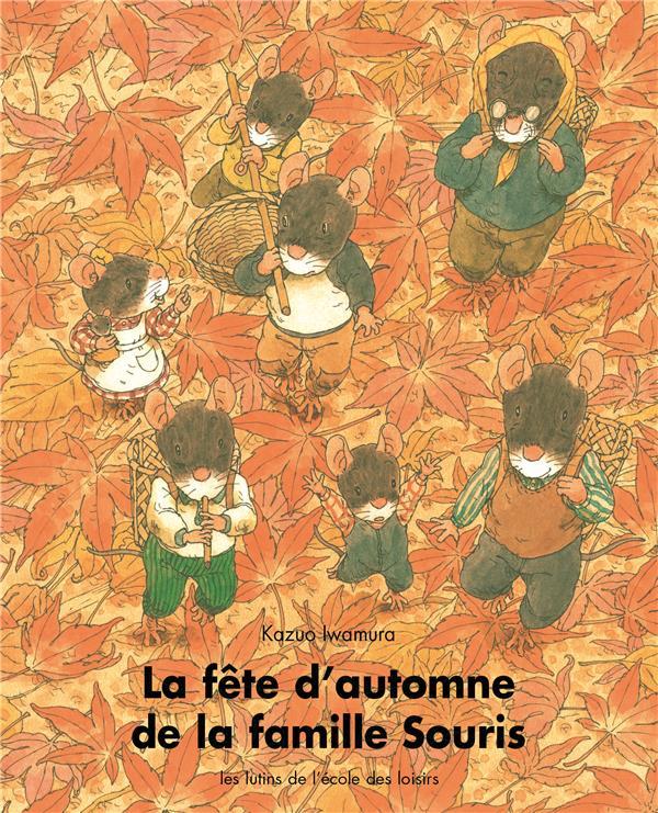 Fete d automne de la famille souris