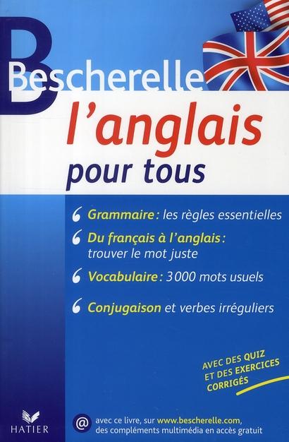 Bescherelle ; L'Anglais Pour Tous