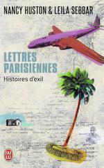 Couverture de Lettres parisiennes - histoires d'exil
