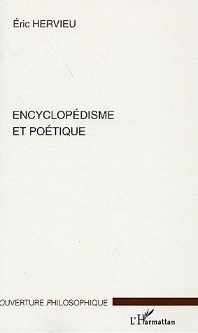 Encyclopedisme et poetique