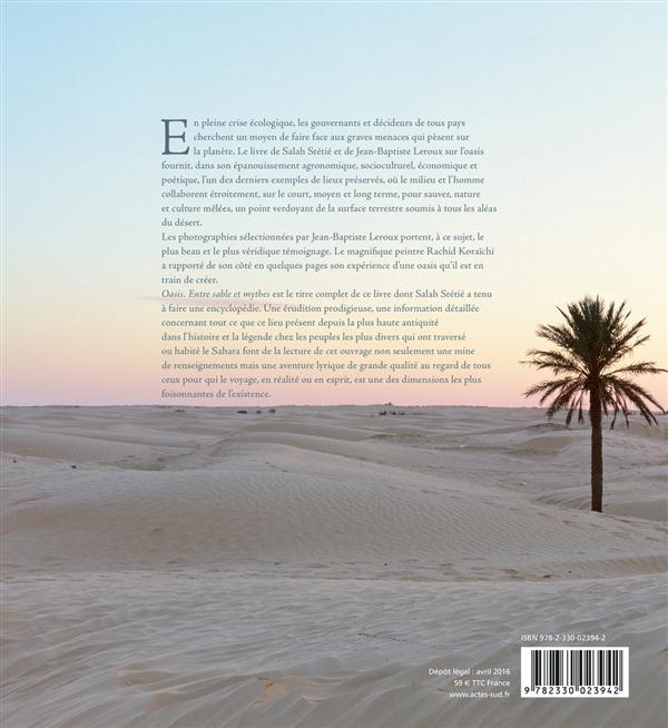 Oasis ; entre sable et mythes