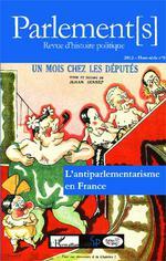 Vente Livre Numérique : L'antiparlementarisme en France  - Jean Garrigues - Jean-Claude CARON
