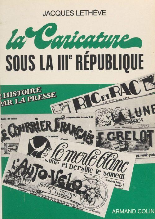 La caricature sous la IIIe République