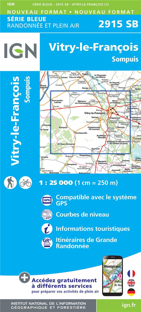 2915SB ; Vitry-le-François, Sompuis
