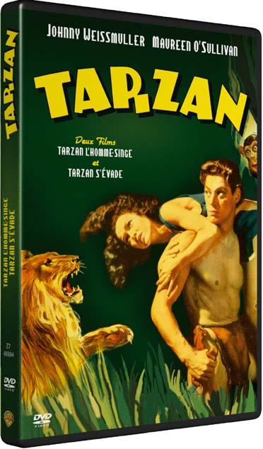 Tarzan, l'homme-singe + Tarzan s'évade