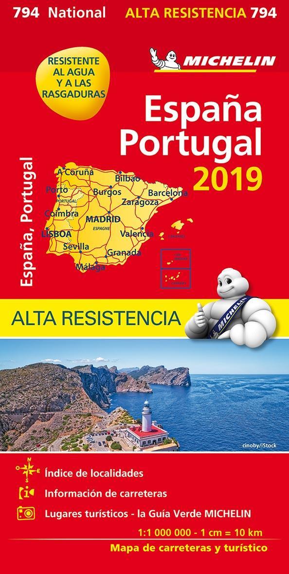 XXX - ESPANA, PORTUGAL 2018 - PAPEL ALTA RESISTENCIA  ESPAGNE, PORTUGAL 2019 - INDECHIRABLE