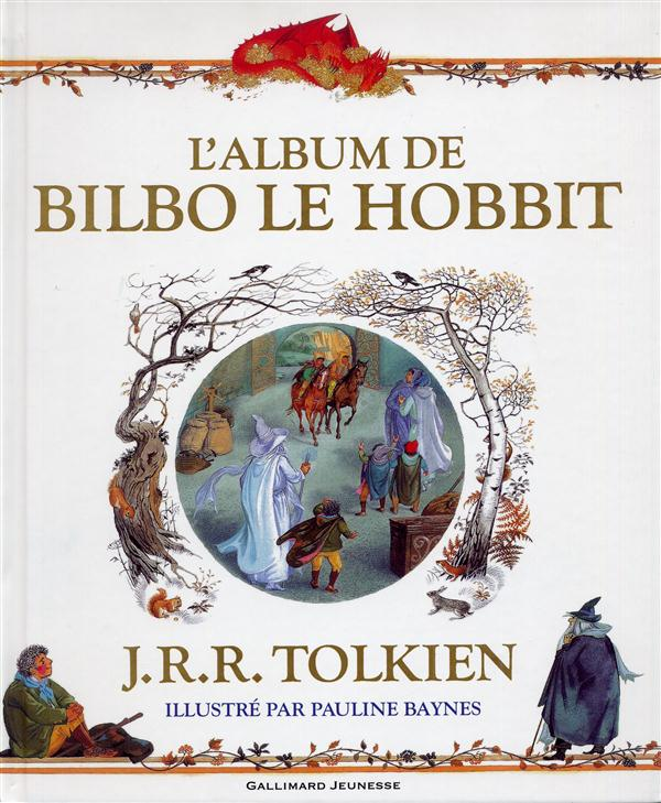 L'album de bilbo le hobbit ; adieu à la terre du milieu