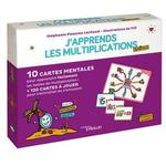 J'apprends les multiplications autrement ; 10 cartes mentales pour apprendre facilement les tables de multiplications