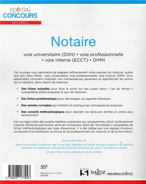 Notaire (2 édition)