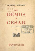 De Démos à César (2)