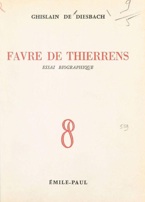 Favre de Thierrens
