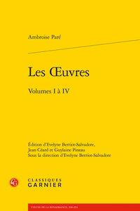 Les oeuvres ; volumes I à IV