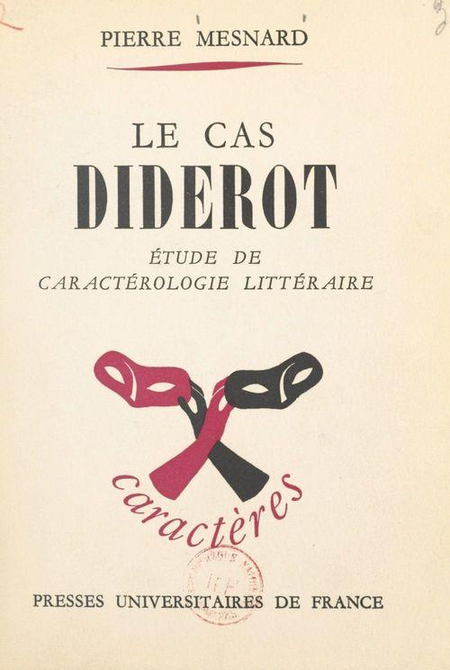 Le cas Diderot