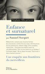 Vente EBooks : Enfance et surnaturel. Une enquête aux frontières  - Stéphane Allix - Samuel Socquet