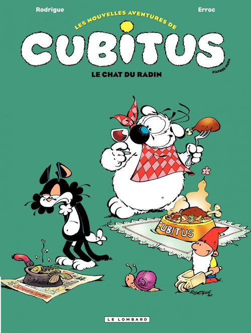 Vente Livre Numérique : Cubitus (Nouv.Aventures) - Tome 7 - Le chat du radin  - Erroc