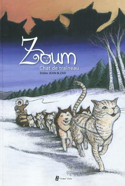 Zoum, chat de traîneau