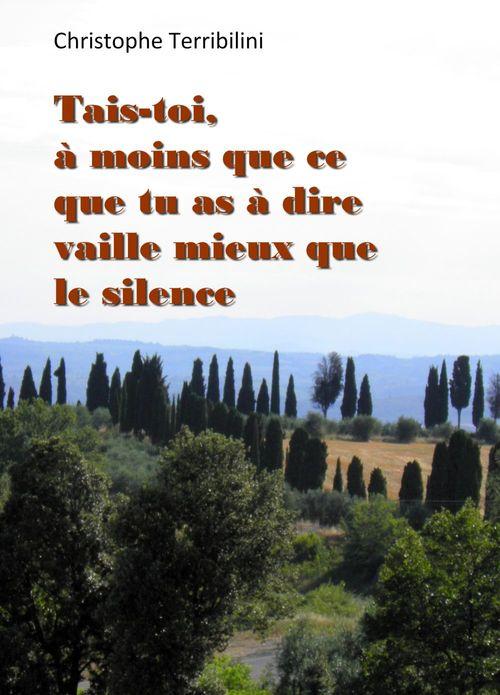 Tais-toi, à moins que ce que tu as à dire vaille mieux que le silence