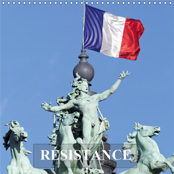 Resistance (calendrier mural 2019 300 * 300 mm square) - face aux agressions et defis de la vie, que