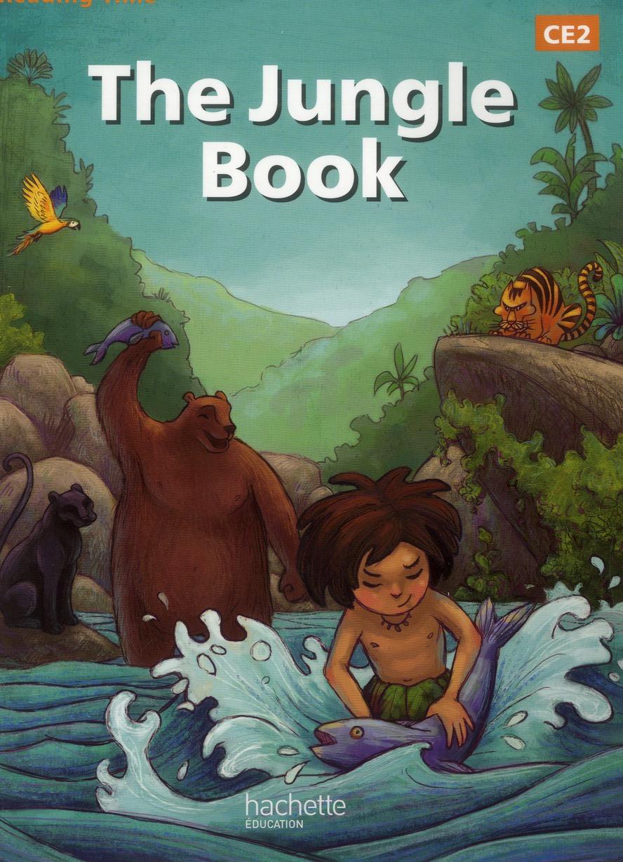 READING TIME ; anglais ; the jungle book ; CE2 ; livre de l'élève