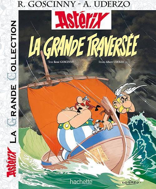 Astérix T.22 ; la grande traversée
