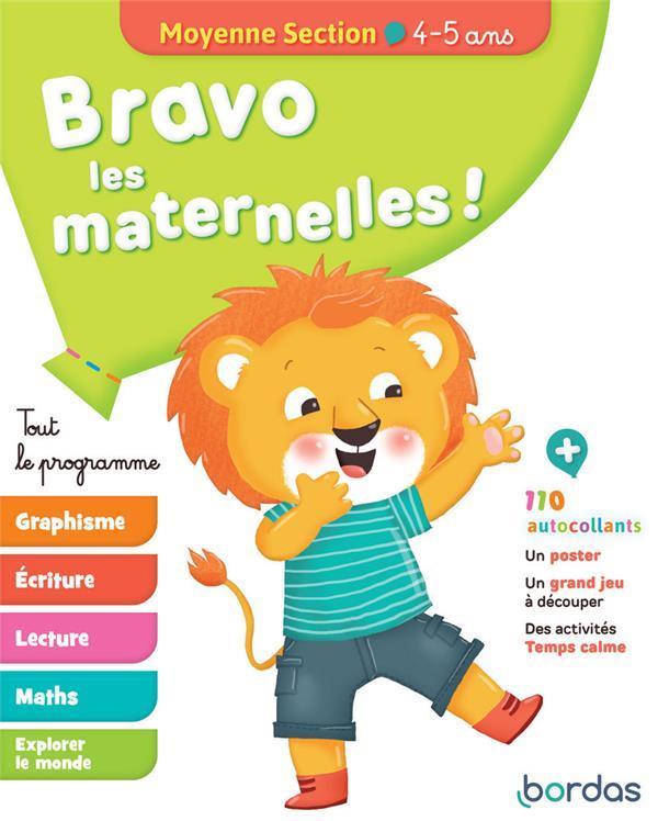 Bravo Les Maternelles ! ; Tout Le Programme ; Moyenne Section ; 4/5 Ans (Edition 2019)