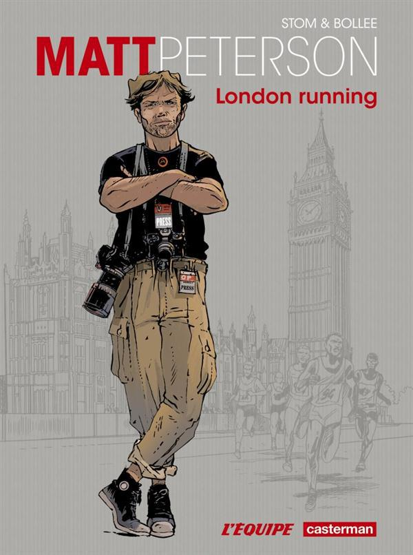 Matt Peterson t.1 ; London running