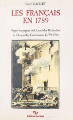 Les Français en 1789