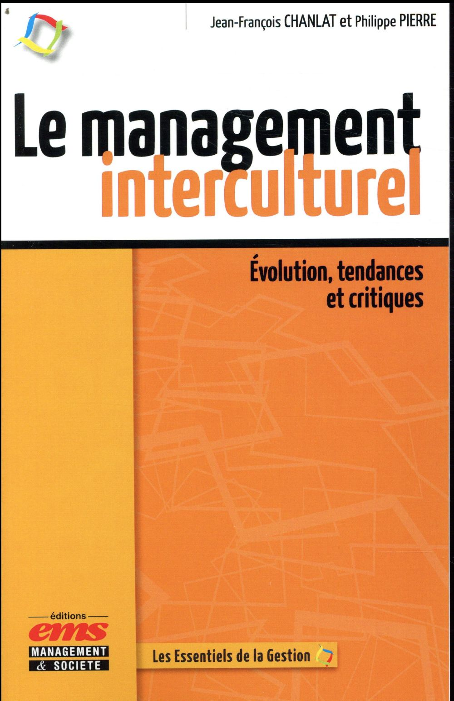 LE MANAGEMENT INTERCULTUREL CHANLAT, JEAN-FRANCOIS