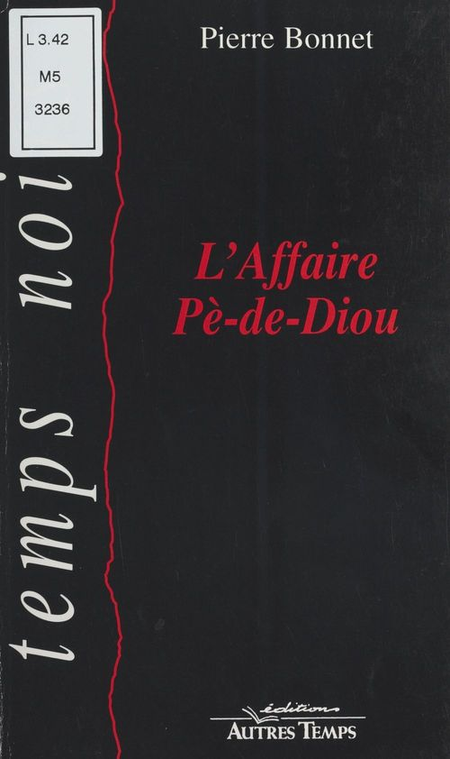 L'affaire pe de diou