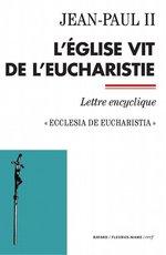 Vente Livre Numérique : L'Église vit de l'Eucharistie  - Jean paul ii