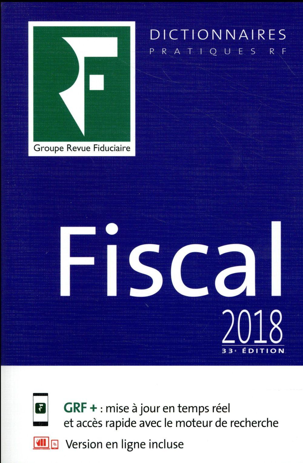 Dictionnaire fiscal (33e édition)