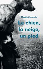 Vente Livre Numérique : Le chien, la neige, un pied  - Claudio Morandini