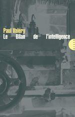 Vente Livre Numérique : Le Bilan de l'intelligence  - Paul Valéry