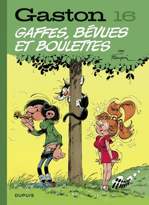 Gaston (Edition 2018) - tome 16 - Gaffes, bévues et boulettes (Edition 2018)