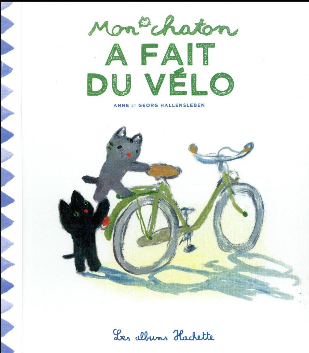 Mon chaton a fait du vélo