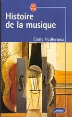 Couverture de Histoire de la musique