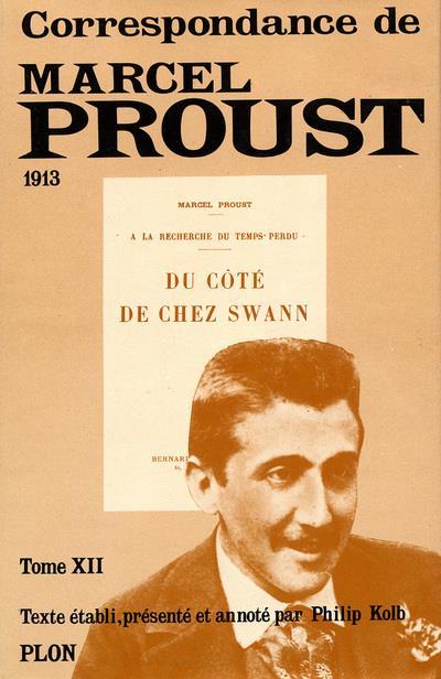 Correspondances de Marcel Proust t.XII
