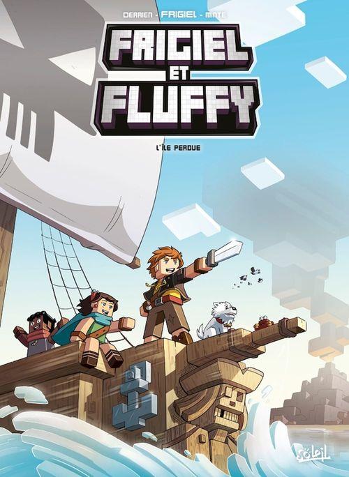 Frigiel et Fluffy T.5 ; l'ile perdue