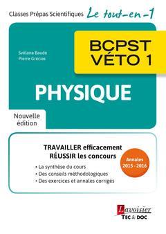 Physique ; BCPST-véto 1 (2e édition)