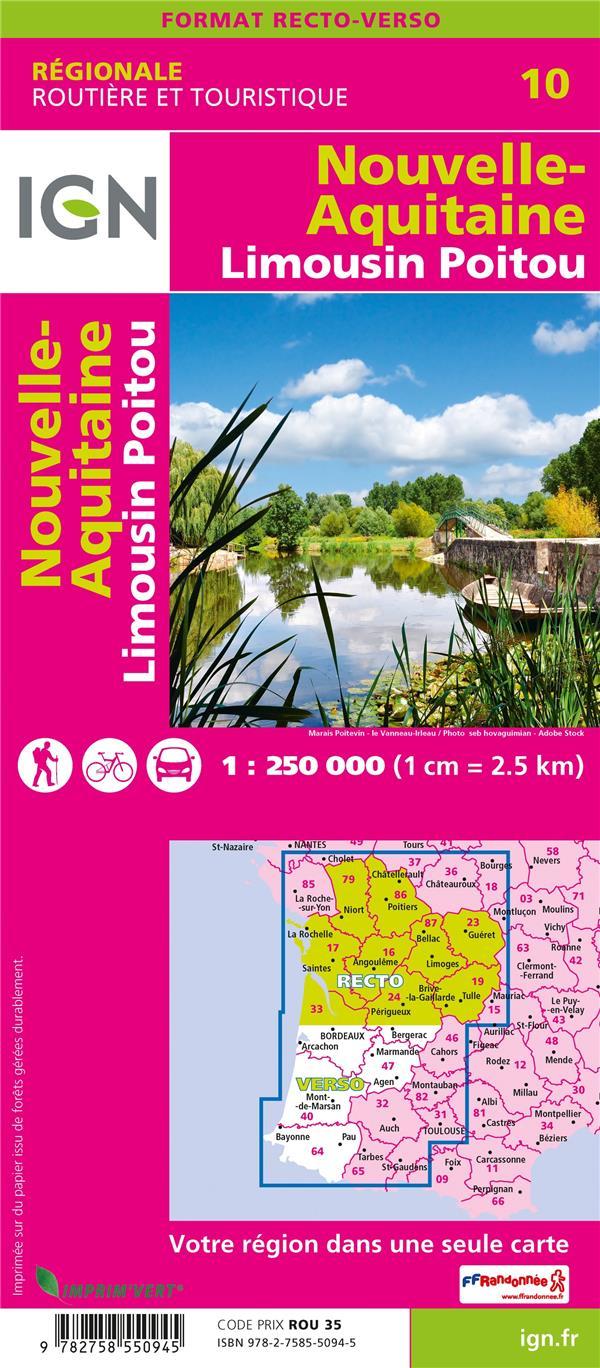 NR10 ; Nouvelle-Aquitaine, Limousin, Poitou (2e édition)