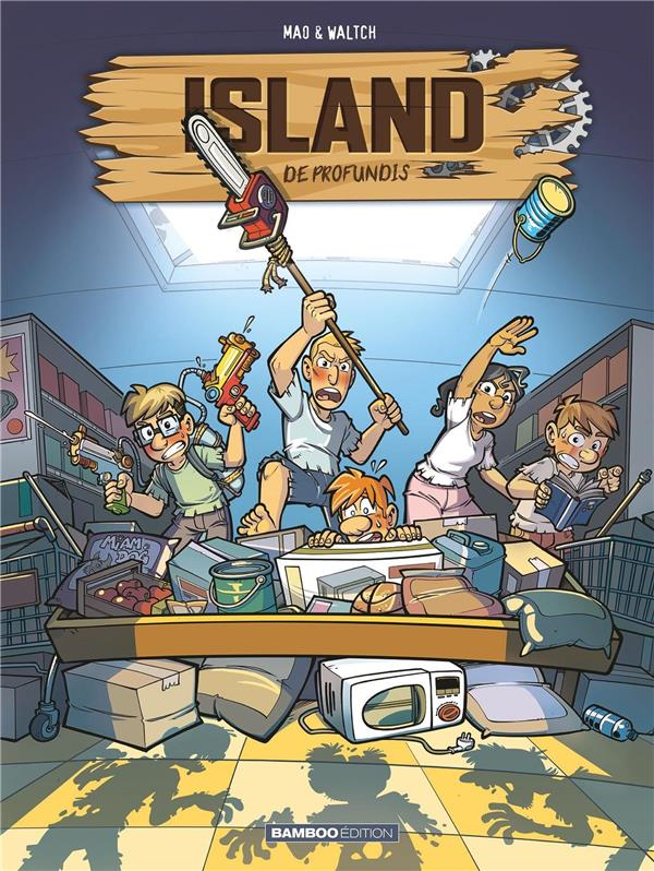 Island T.2 ; de profundis