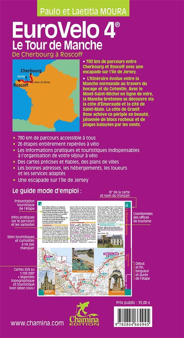 Eurovelo 4 ; le tour de Manche de Cherbourg à Roscoff