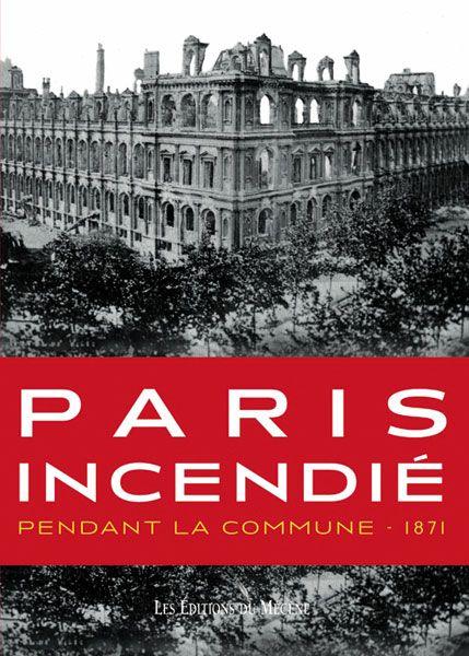 Paris incendié pendant la commune